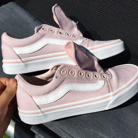 82f0d7afa08f light pink old skool vans 💗. M 5b3ddd2cc9bf50346f9f8398